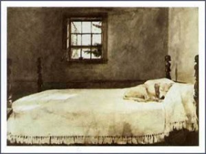 Andrew Wyeth: Master Bedroom